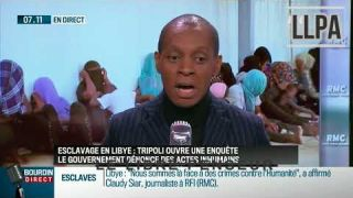 Esclavage en Libye:belle intervention de Claudy Siar